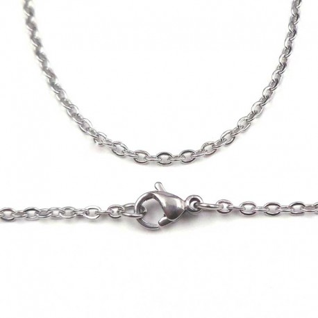 Chain Stainless Steel 2mm thick Necklace