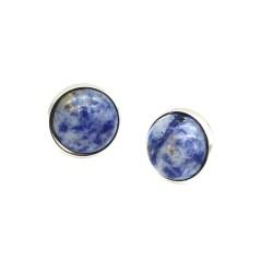 Shamballa armbånd Tigerøje ægte sten 8mm perler